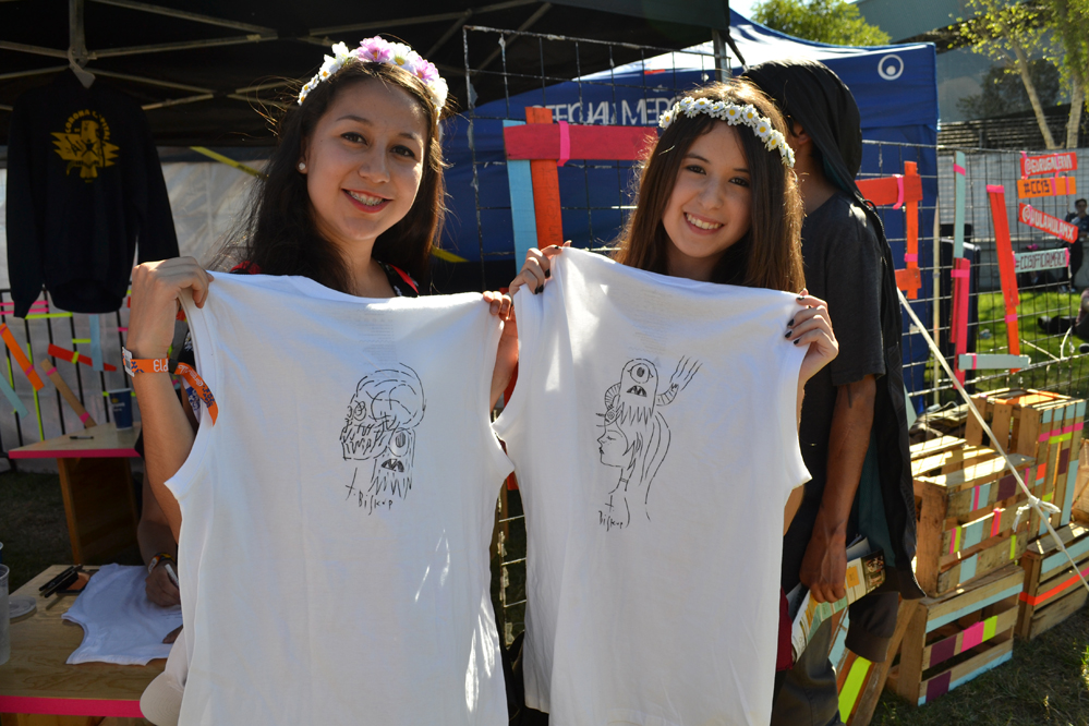 T-SHIRTS TIM BISKUP  | CORONA CAPITAL 2013 | MEXICO CITY